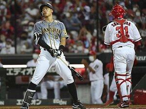 《35打席連続無安打》絶不調の佐藤輝明に、通算403本塁打・山崎武司が2つの助言 「屈辱でも…」「オヤジ(ノムさん)が生きていたら」