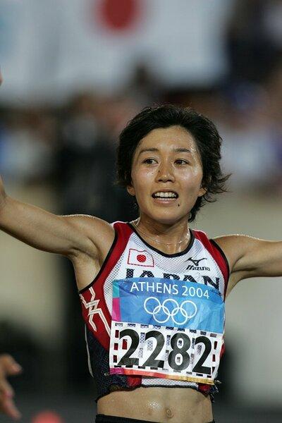 2004年8月22日 アテネ五輪女子マラソン