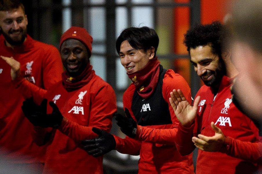 リバプールでの出場試合、得点……。南野拓実、どれほどの数字なら合格?<Number Web> photograph by Liverpool FC/ Getty Images