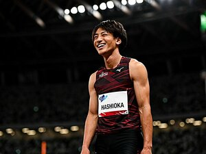 """走幅跳・橋岡優輝、""""8m超え""""連発の要因は助走? 跳躍種目で五輪メダル獲得となれば85年ぶり「最低限の目標に」"""