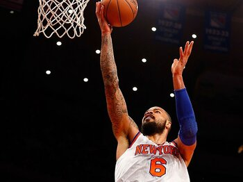 """初のオールスター選出を果たした地道な""""雑用係""""。~NBA12年目、チャンドラーの流儀~<Number Web> photograph by Getty Images"""