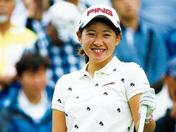 日本女子オープンで脚光を浴びた17歳の逸材。~アマゴルファー永井花奈の聡明さ~<Number Web> photograph by Taku Miyamoto