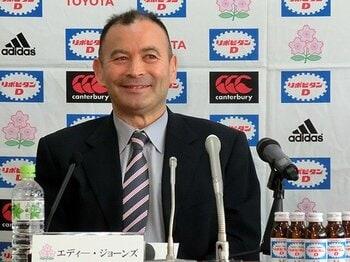 災い転じて福となるか。エディが見せた変わらぬ意志。~ラグビー代表監督の劇的な復帰~<Number Web> photograph by Nobuhiko Otomo