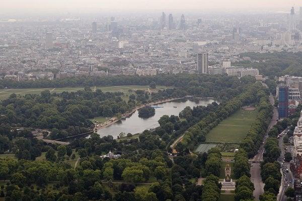 <ロンドン五輪2012> トライアスロンの舞台となるハイドパーク