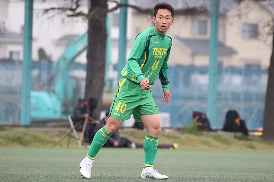 J2京都内定の帝京長岡・谷内田哲平。久保らに続き「世代の象徴に」。<Number Web> photograph by Takahito Ando