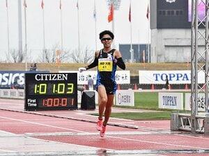 神野大地はマラソンでも神なのか。五輪代表3人に勝利した異常な粘り。