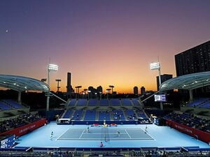 全日本選手権は無観客で開催。小さな一歩には大きな意義が。~テニス再開の宣言と渡したいバトン~