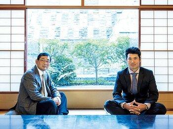 <世界に認められた2人のスペシャル対談>松山英樹×中嶋常幸「メジャーを勝つために」<Number Web> photograph by Takuya Sugiyama