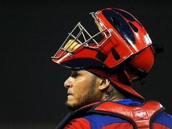 日本の敗退とモリーナの頭脳。~侍ジャパンを手玉にとった名捕手~<Number Web> photograph by MLB Photos via Getty Images