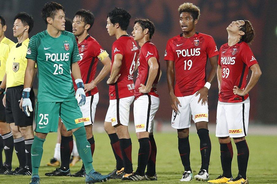 結局、鹿島と何が違うのだろうか。浦和の「勝負強さ」問題はまだ続く。<Number Web> photograph by Kyodo News