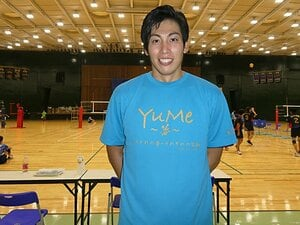 36歳越川優にまた驚かされた! ビーチバレーからVリーグへ再復帰、希望したのはマネジメント業?