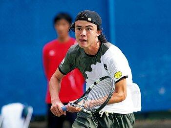 テニス王国に育まれ、躍進するダニエル太郎。~NY生まれスペイン育ちのサムライ~<Number Web> photograph by Hiromasa Mano