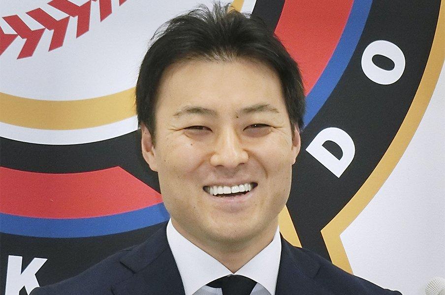 田中賢介、シーズン前に引退表明。功労者の花道は日本ハムの活力に。<Number Web> photograph by Kyodo News