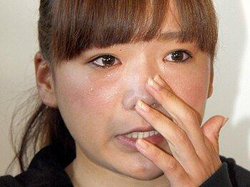 """大災害に素早く対応した彼女たちの""""頼もしさ""""。~女子ゴルフ界で広がる募金活動~<Number Web> photograph by KYODO"""