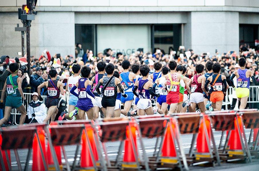 沿道で箱根駅伝をご観戦(予定)の方へ、大会主催者からのお願い<Number Web>