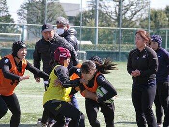 「エディ・セッション」で女子選手たちが学んだこと。~ラグビー日本代表HCが直接指導~<Number Web> photograph by Nobuhiko Otomo