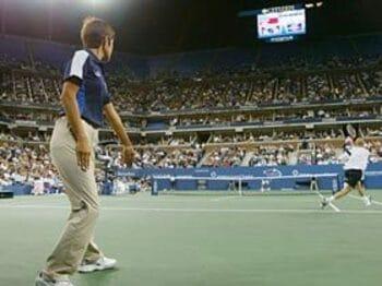 機械では測れないテニスの奥深さ。<Number Web> photograph by Hiromasa Mano