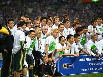 オーストラリアと引き分けW杯決定!日本代表の「本田効果」を検証する。 <Number Web> photograph by Asami Enomoto