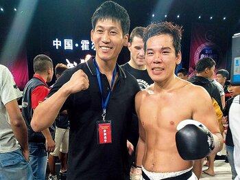 キックボクシング熱高まる中国市場の問題と可能性。~ずさんな進行、地元贔屓も……~<Number Web> photograph by Koji Fuse