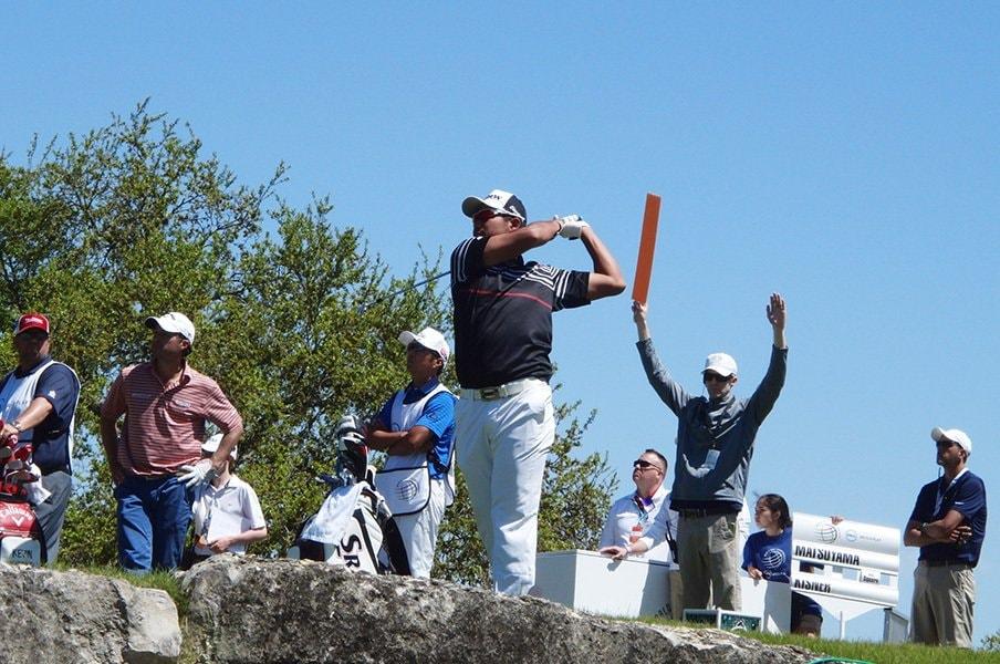 何度転んでも、タダでは起きない。松山英樹、マスターズへの戦利品。<Number Web> photograph by Sonoko Funakoshi