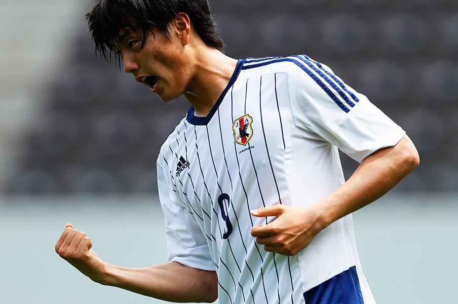 磐田で控え、世代別代表ではエース。小川航基は前園、清武級になれるか。<Number Web> photograph by AFLO