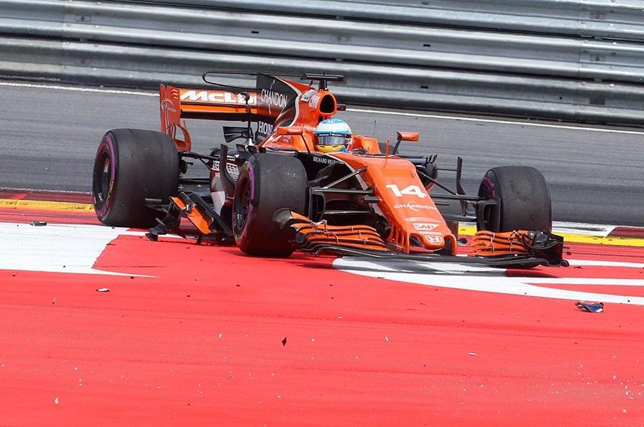 マクラーレンと契約解消? F1撤退?ホンダを巡る不穏な噂の真偽は……。<Number Web> photograph by AFLO