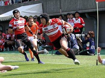 2015年W杯を見据える、指揮官エディの深謀遠慮。~ラグビー日本代表のタフな日程~<Number Web> photograph by Nobuhiko Otomo