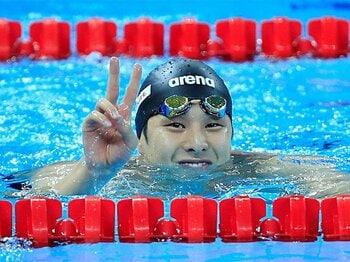 「えっ、これが筋トレ?」の練習で、瀬戸大也の泳ぎが好循環した理由。<Number Web> photograph by AFLO