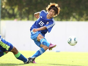 もしかするとクウェートに圧勝かも!?U-22代表が湘南戦で見せた急成長。<Number Web> photograph by Kenzaburo Matsuoka/AFLO