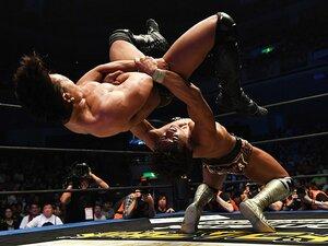 DDTプロレスが近未来を託した男と女。学生竹下幸之介と筋肉アイドル才木玲佳。