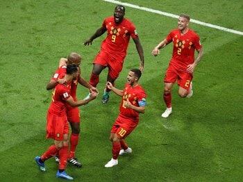 「ベルギーの力は圧倒的、完璧」トルシエすらフランス不利と予想。<Number Web> photograph by Getty Images