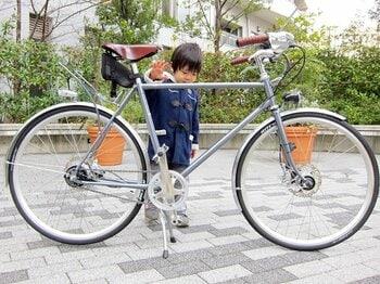 ニッポンの自転車通勤に新提案!「自転車ツーキニスト号」が遂に完成。<Number Web> photograph by Satoshi Hikita