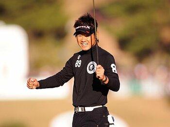 若手台頭の中で奮闘した41歳、藤田寛之の存在感。~2010年ゴルフシーンを振り返る~<Number Web> photograph by Yuichi Masuda