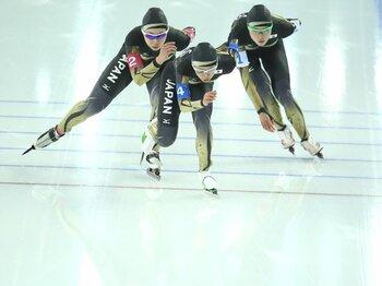 """""""世界が遠い""""女子パシュート4位。スピードスケート復活に何が必要か?<Number Web> photograph by Shinya Mano/JMPA"""