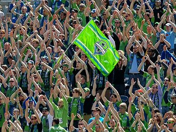 シアトルの流行はMLBよりもMLS!米国のサッカー人気がついに定着か?<Number Web> photograph by Getty Images