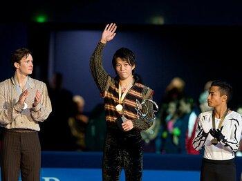 NHK杯でのファイナル決定が見えた!?無良のGP初優勝で高橋らが有利に。<Number Web> photograph by Enrico Calderoni/AFLO SPORT