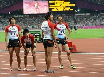 若いメンバーで臨んだ4×100mリレー。「悔しい5位」がもたらす大きな財産。<Number Web> photograph by Asami Enomoto/JMPA