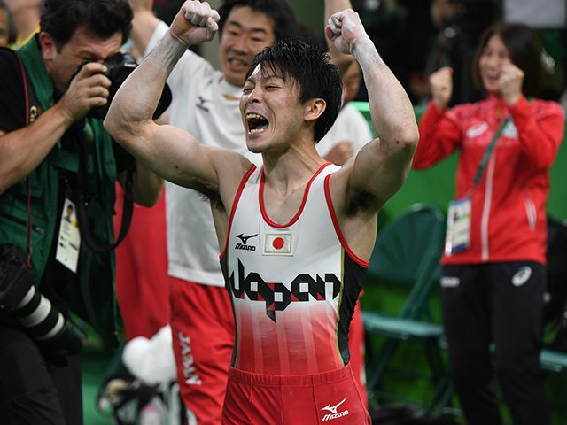歴代142個の金メダルランキングで再確認した体操・内村航平の偉大さ。<Number Web> photograph by Asami Enomoto/JMPA