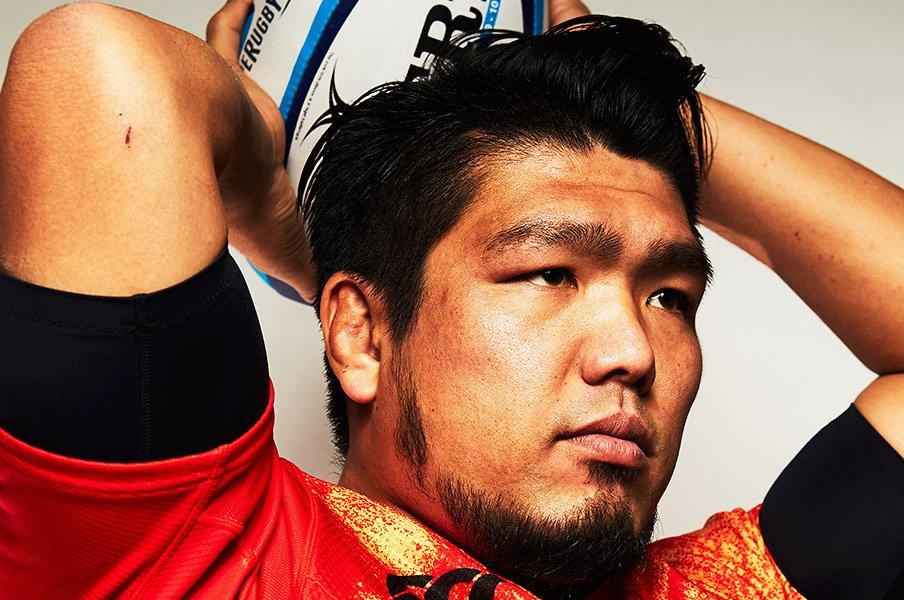 ラグビーの日本代表、堀江翔太