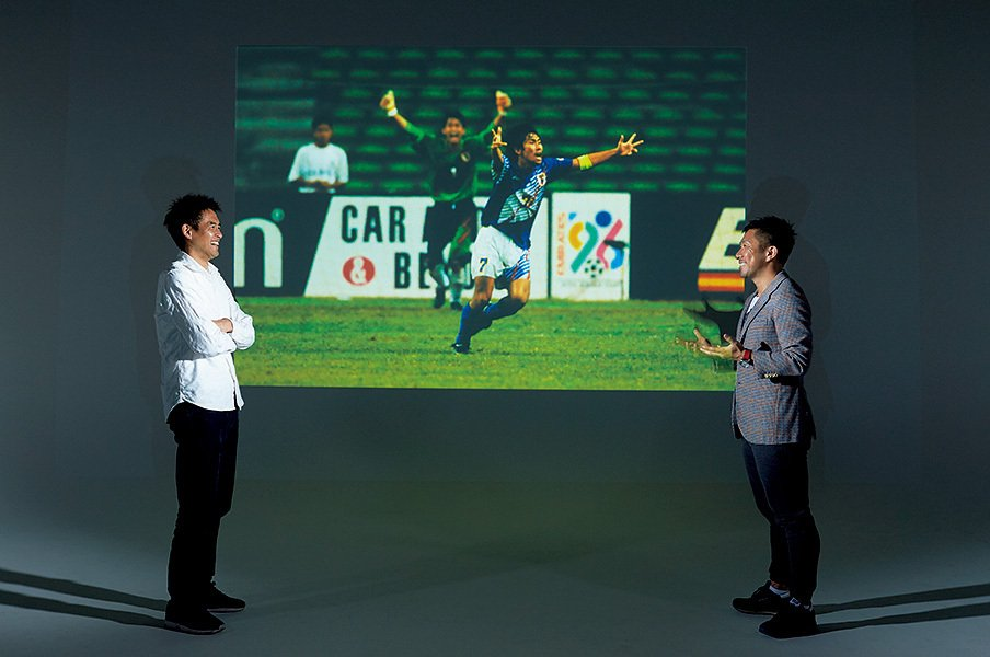 1996年アトランタ五輪、優勝大本命のブラジルを相手に日本は勝利。あまりに有名なこの「マイアミの奇跡」を、主将と守護神、2人に振り返ってもらった。