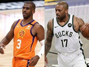 """「これは戦いだ」NBAファイナルは予想を覆す""""サンズvsバックス"""" チーム創設が同年、優勝経験者はゼロ…重なるいくつもの因縁とは?"""