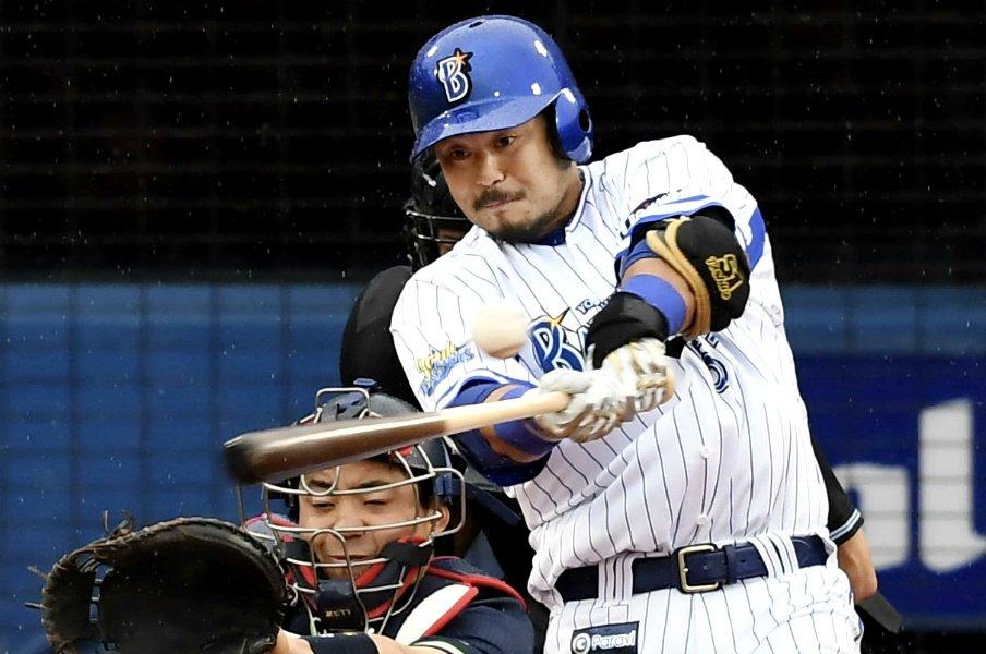 宮崎敏郎に何が起こっているのか?苦戦のDeNAで待たれる天才復活。<Number Web> photograph by Kyodo News