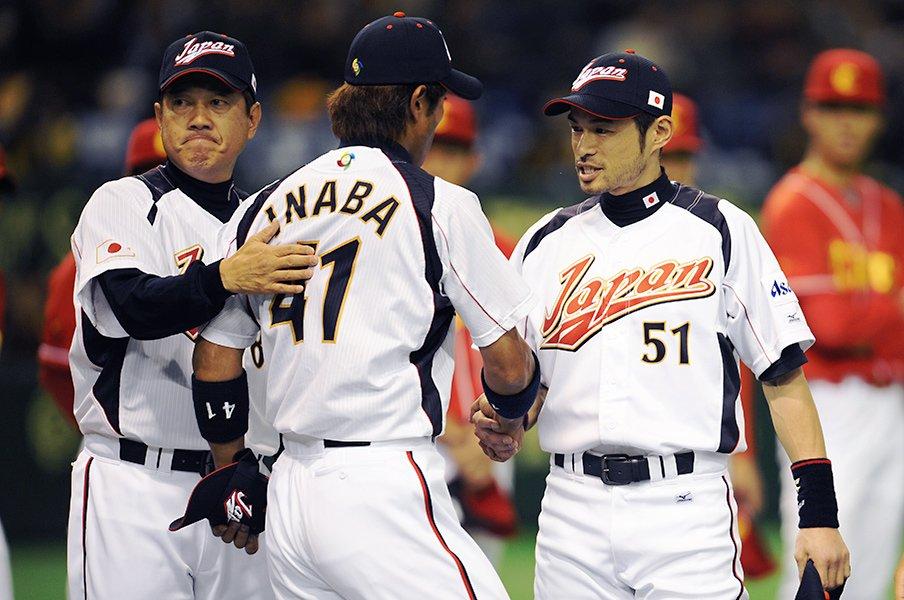 「イチロー選手」と「稲葉さん」球界の上下関係を越えたリスペクト。<Number Web> photograph by Naoya Sanuki