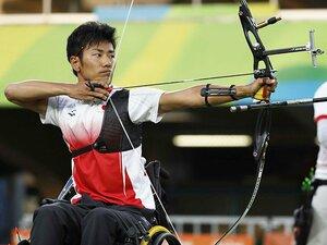 「東京パラリンピックでは金メダルを取ります」  パラアーチェリー上山友裕、2020年への決意。