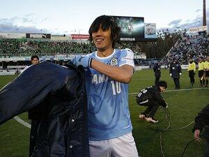 中村俊輔「今のままじゃ勝てない」J1参入決定戦3時間前、磐田の真実。