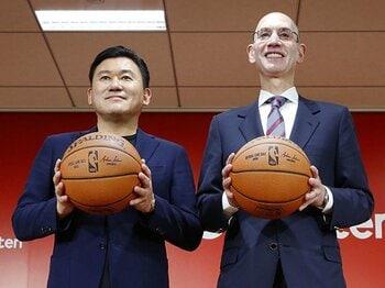 楽天がNBAと提携する意義は?進むグローバル化と顧客囲い込み。<Number Web> photograph by Kyodo News