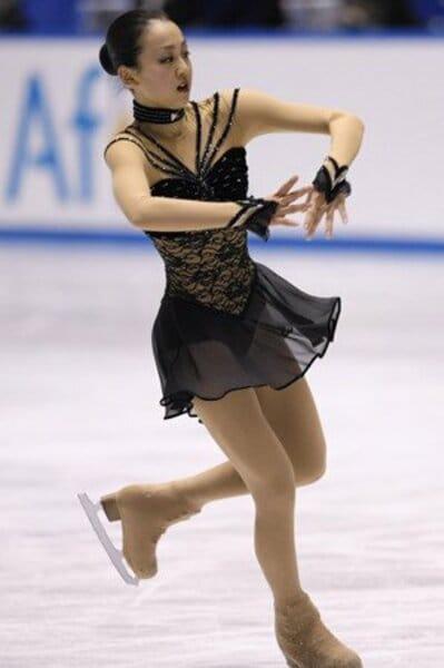 2008フィギュアスケートグランプリシリーズ NHK杯 女子シングルフリー