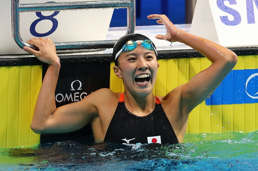 """世界水泳、金メダルなしの危機感。平井コーチの打開策は""""部活""""!?<Number Web> photograph by AFLO"""
