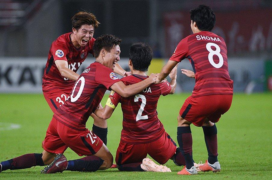 「目の前の1試合に集中するだけ」鹿島の快進撃を支える勝利のDNA。<Number Web> photograph by Itaru Chiba/AFLO