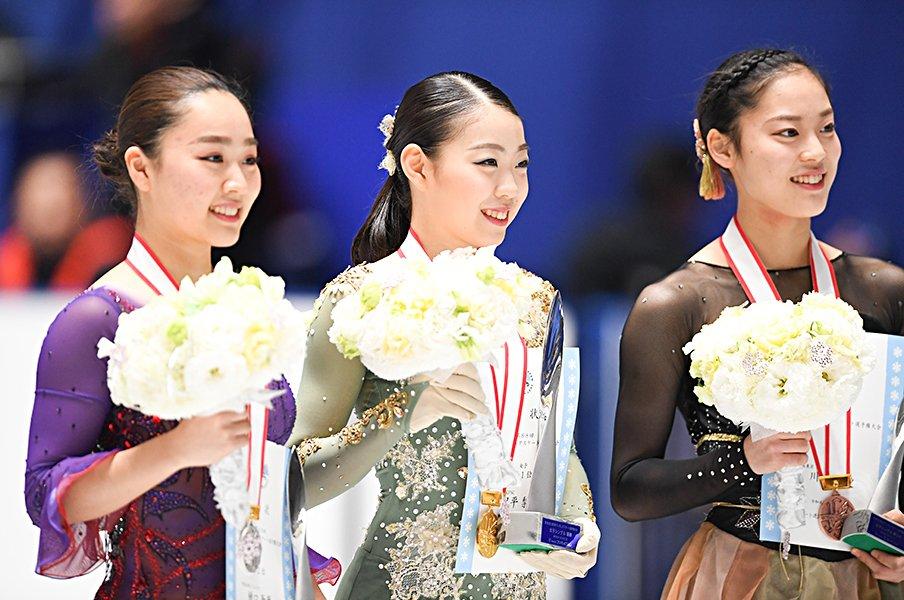 「世界選手権では4回転、完璧に」全日本制覇、紀平梨花が目指すもの。<Number Web> photograph by Asami Enomoto